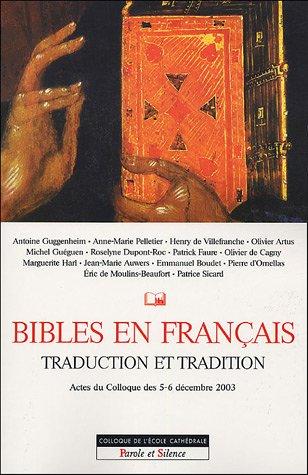 La Bible, traduction et tradition