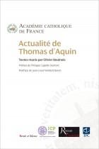 Actualité de saint Thomas d'Aquin