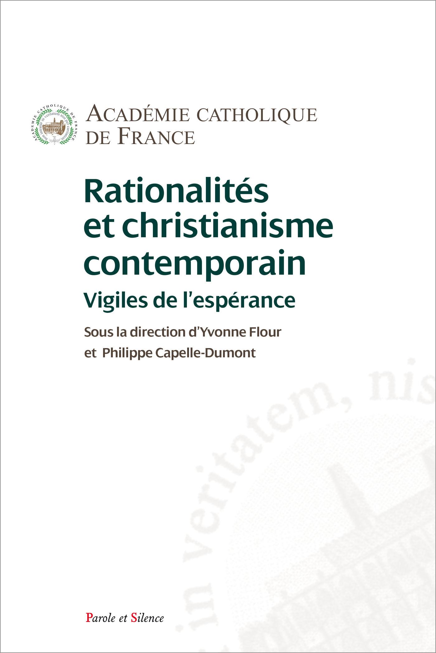 Rationalités et christianisme contemporain