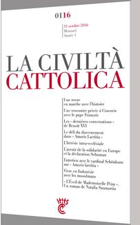 Civiltà Cattolica - Octobre 2016