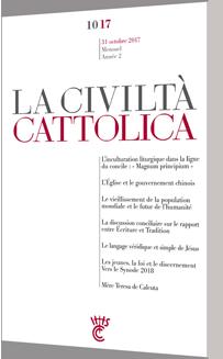 CIVILTA CATTOLICA OCTOBRE 17
