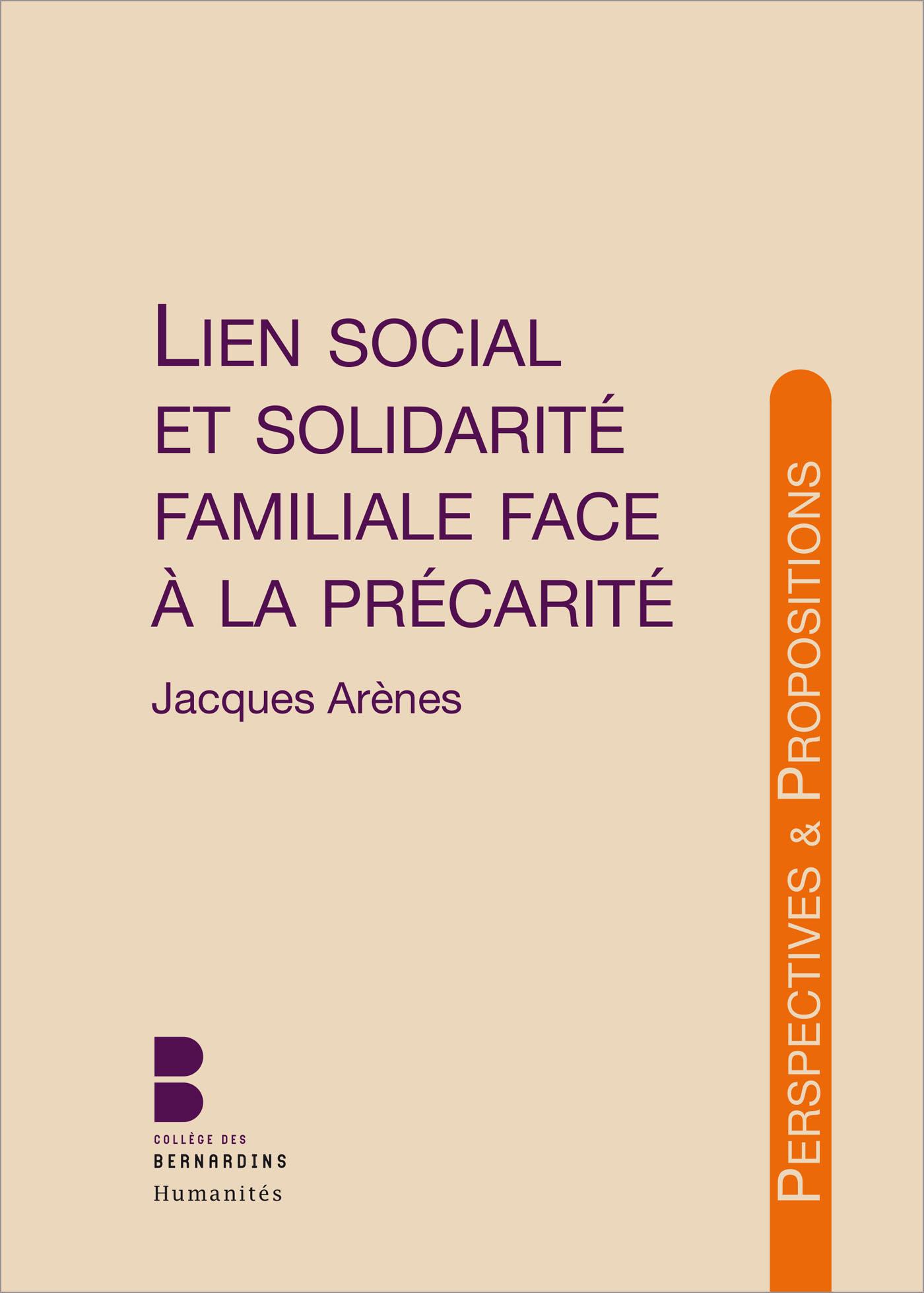 Lien social et solidarité familiale
