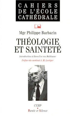 Théologie et sainteté