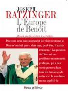 L'Europe de Benoît dans la crise des cultures
