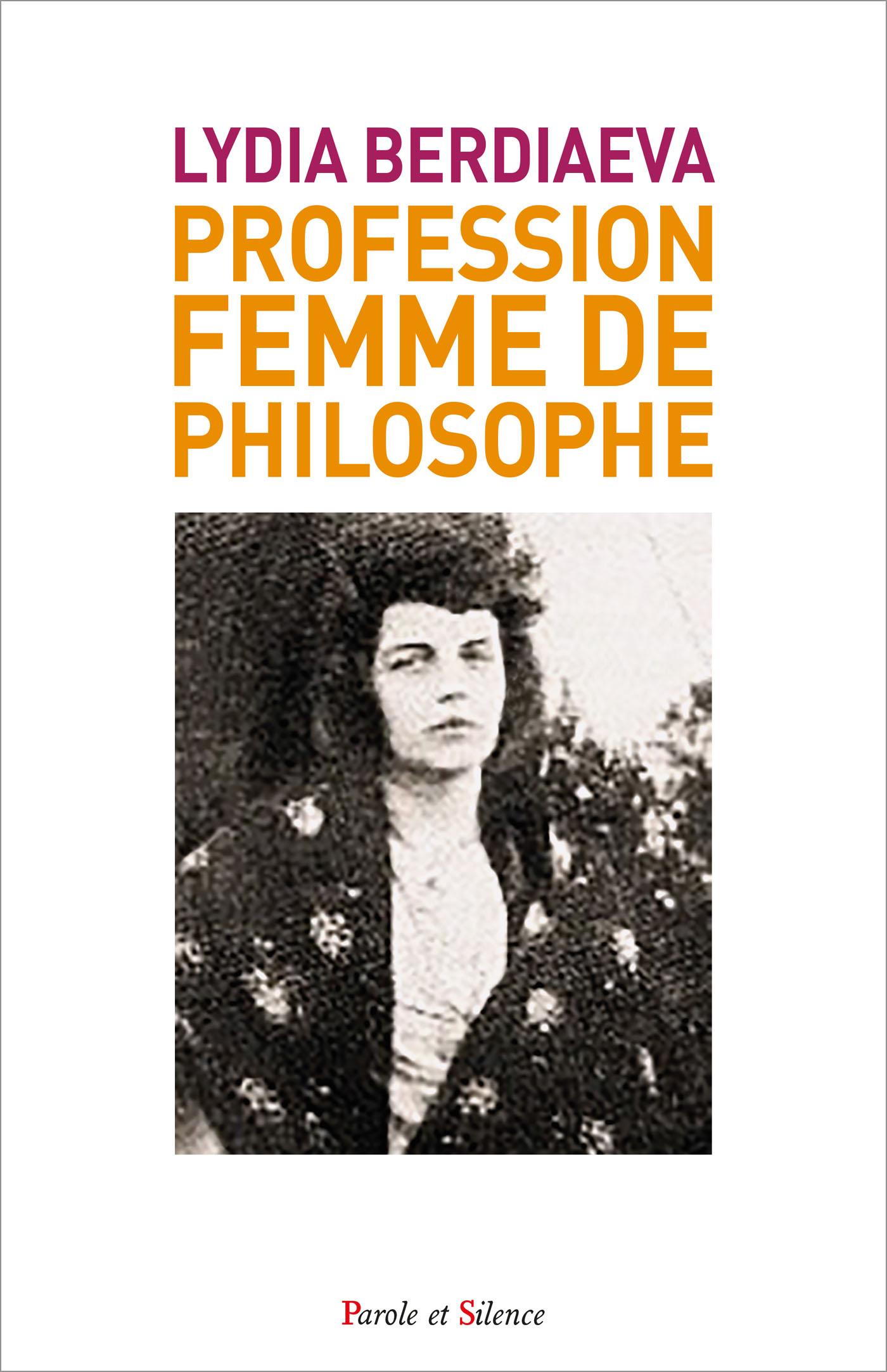 Profession : femme de philosophe