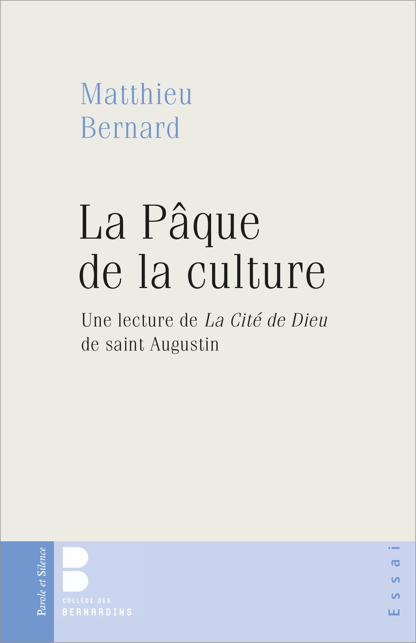 La Pâque de la culture