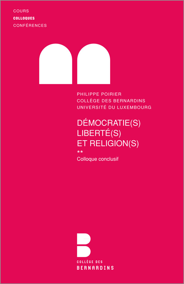 Démocratie(s), Liberté(s) et Religion(s) **