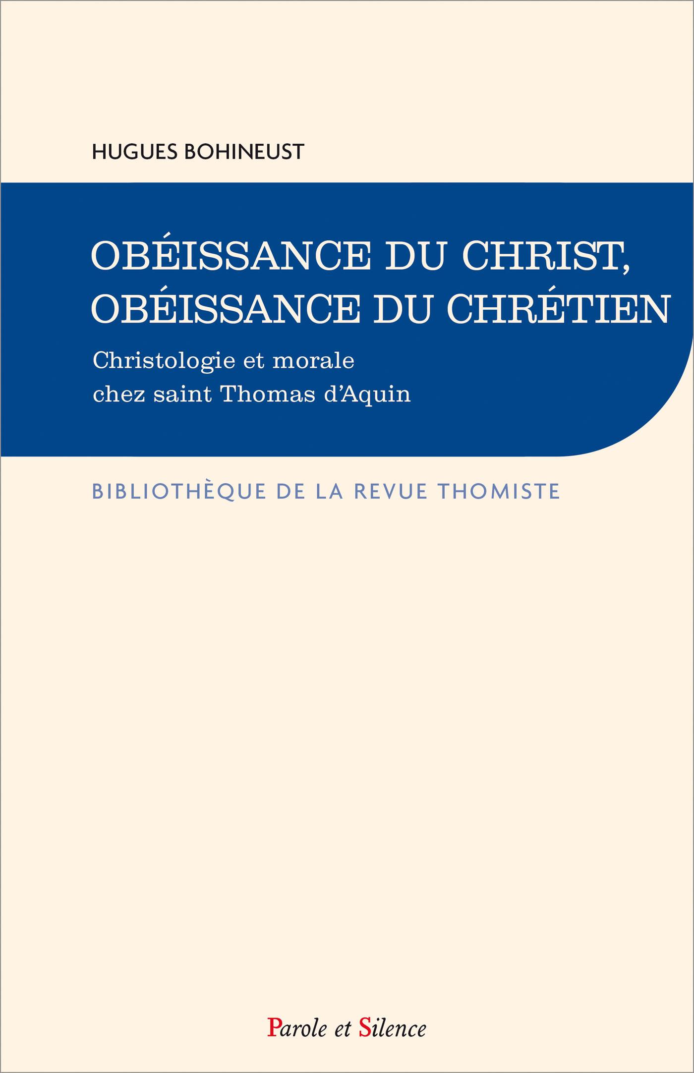 Obéissance du Christ, obéissance du chrétien