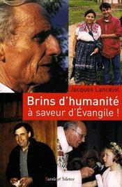 Brins d'humanité... à saveur d'Evangile ! : réflexions, méditations, poèmes et prières d'un prêtre en paroisse