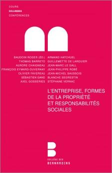 L'entreprise, formes de la propriété et responsabilité (A.E.)