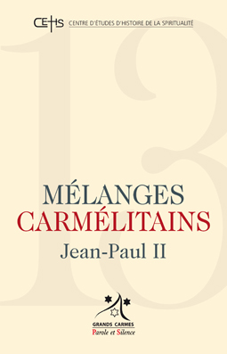 Mélanges carmélitains 13