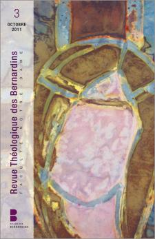 Revue Théologique des Bernardins 3