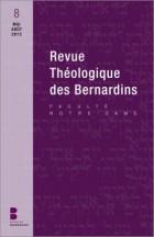 Revue théologique des Bernardins 8