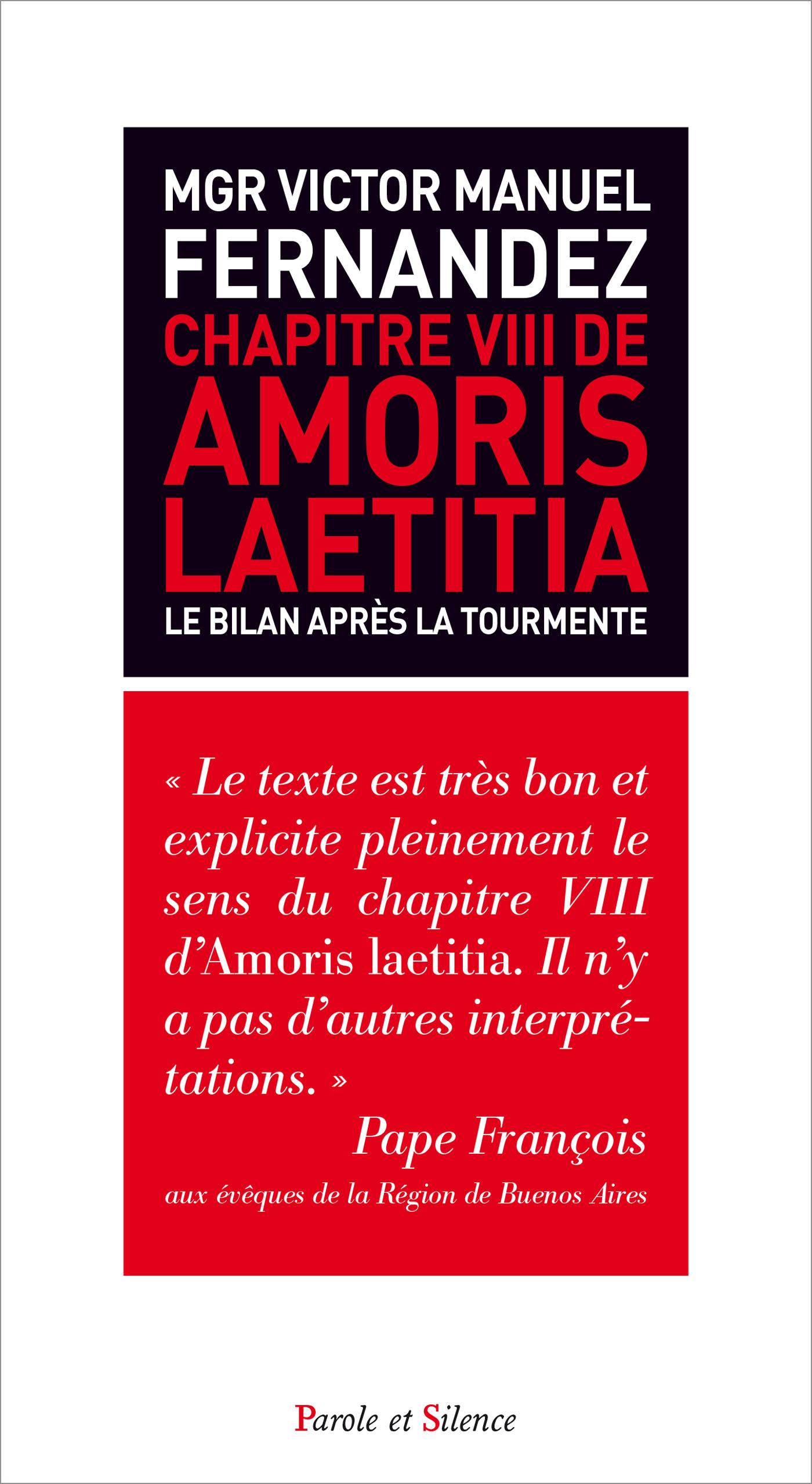 Le chapitre VIII de Amoris laetitia