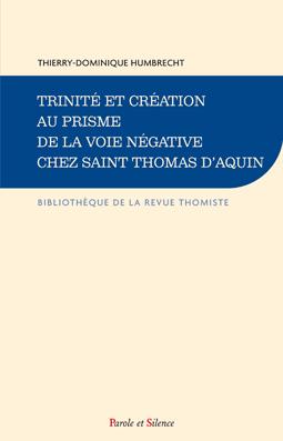 Trinité et création au prisme de la voie négative