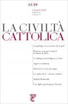 LA CIVILTA CATTOLICA - JANVIER 2019