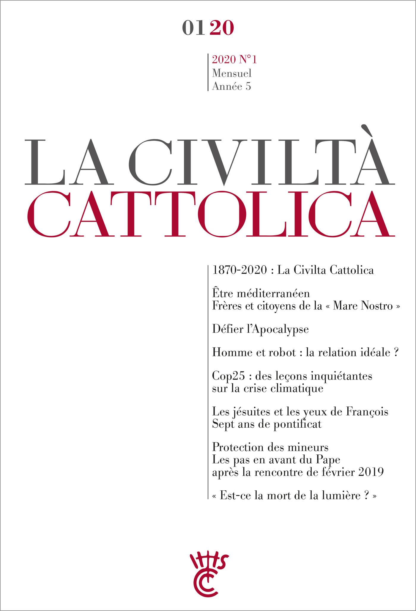 LA CIVILTA CATTOLICA 0120