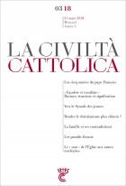Civiltà Cattolica mars 2018