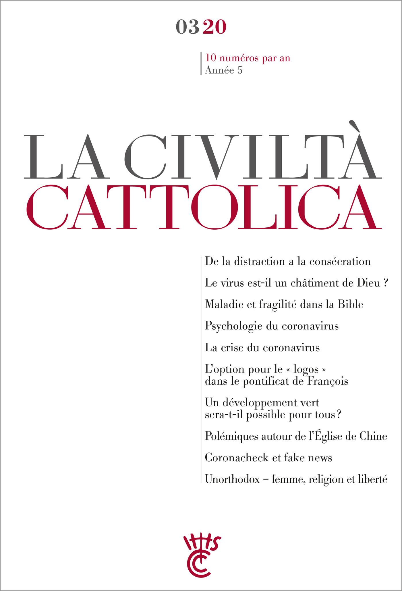LA CIVILTA CATTOLICA 0320
