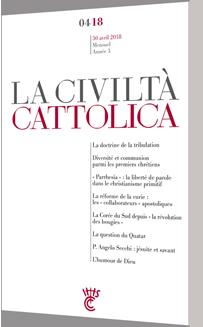 CIVILTA CATTOLICA AVRIL 2018