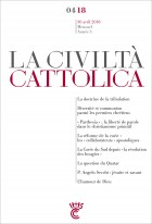 CIVILTA CATTOLICA AVRIL 2018