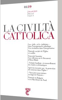 Civilta Cattolica - Avril 2019