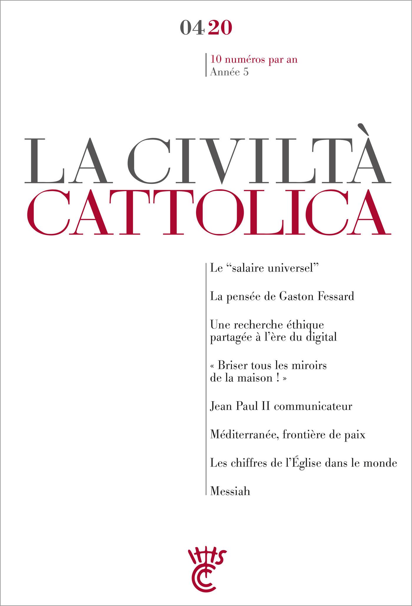 LA CIVILTA CATTOLICA 0420