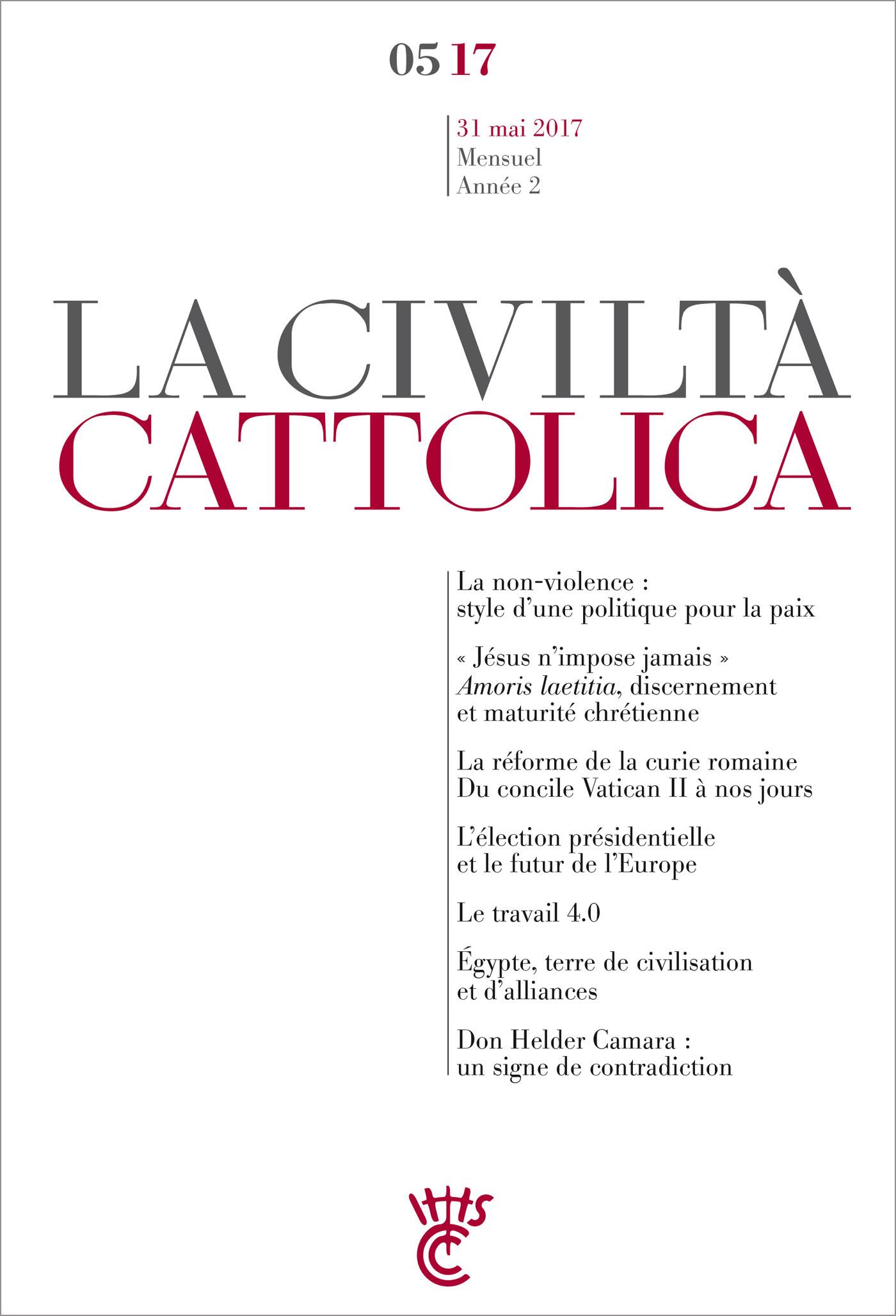 Civiltà Cattolica Mai 2017