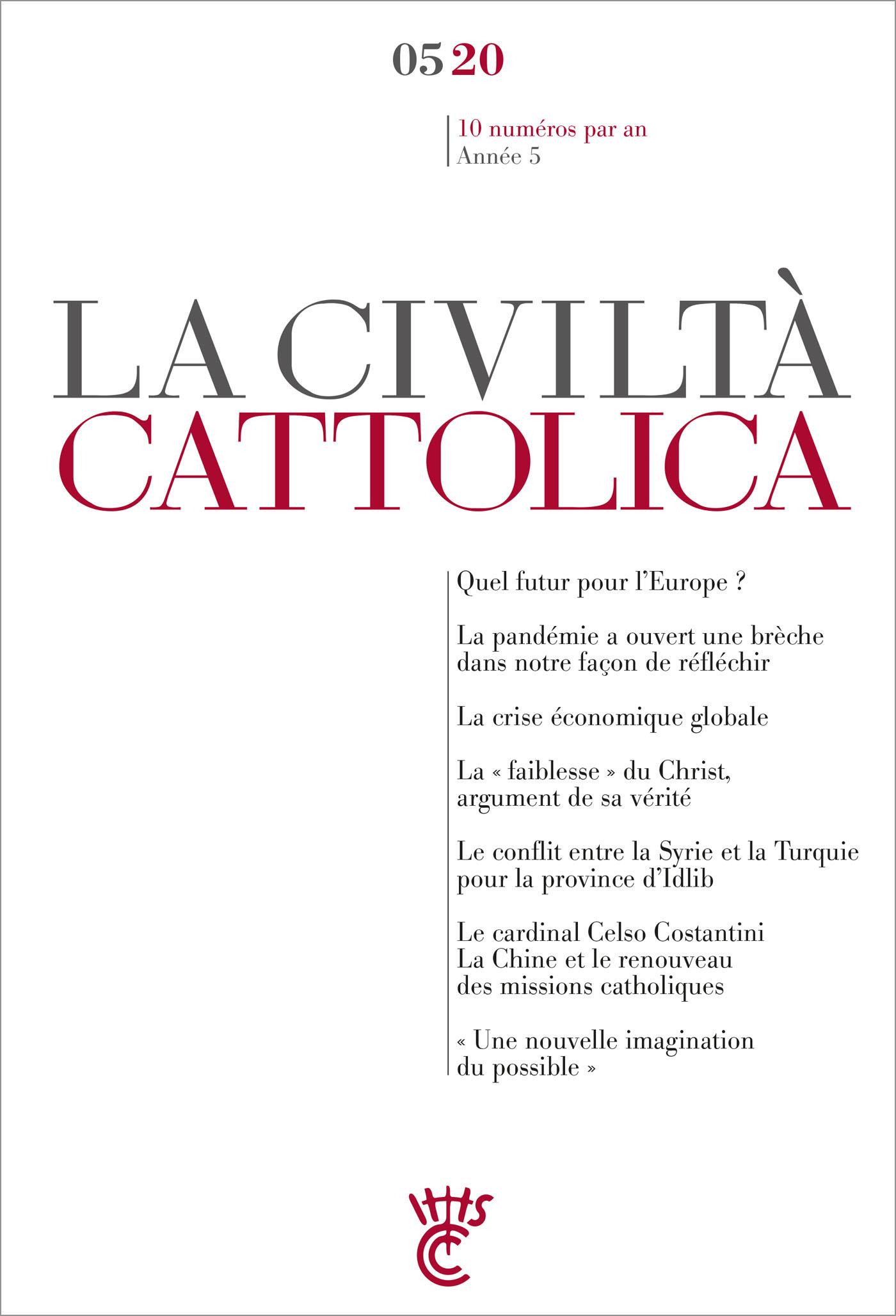 LA CIVILTA CATTOLICA 0520
