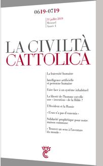 Civilta cattolica - juin-juillet 2019