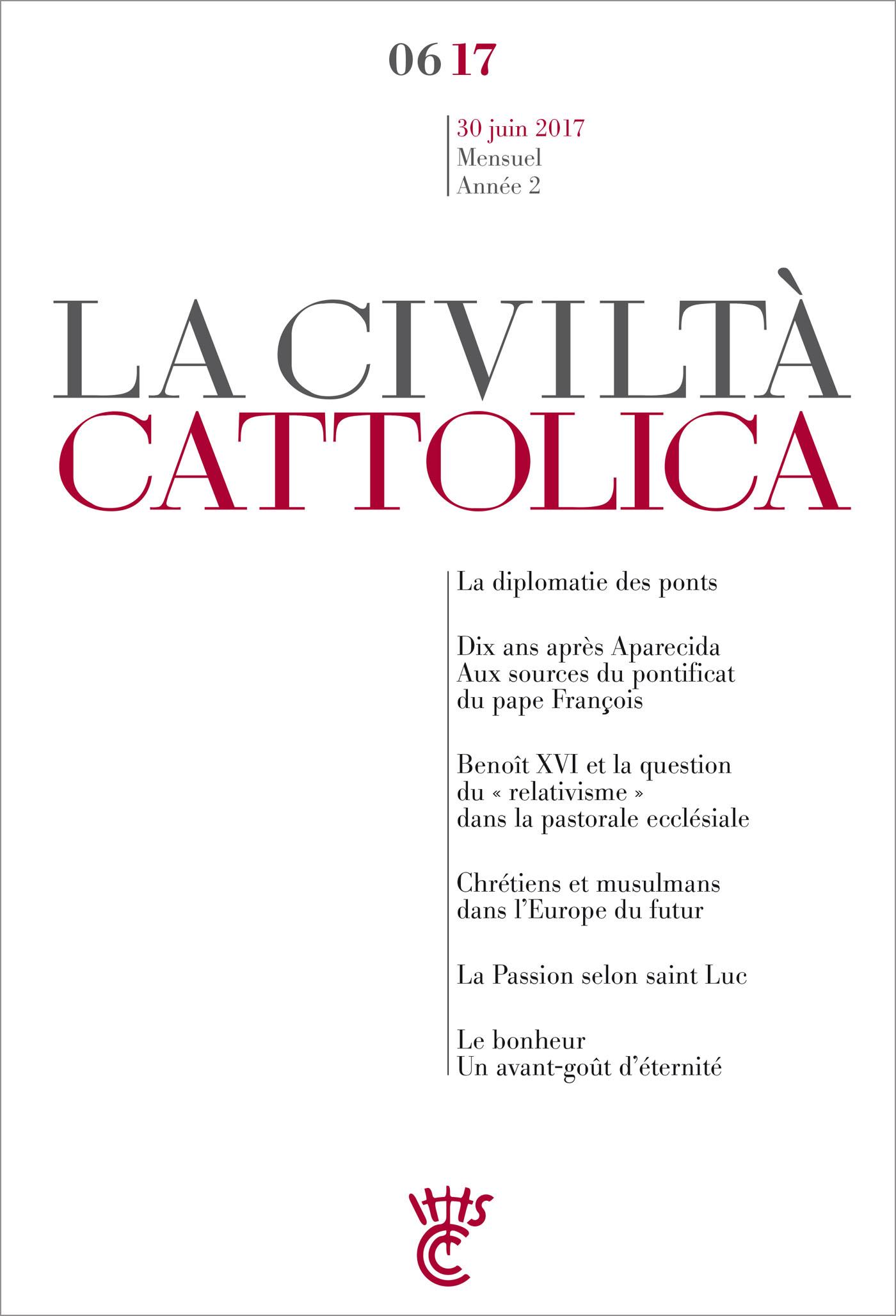 Civiltà Cattolica Juin 2017