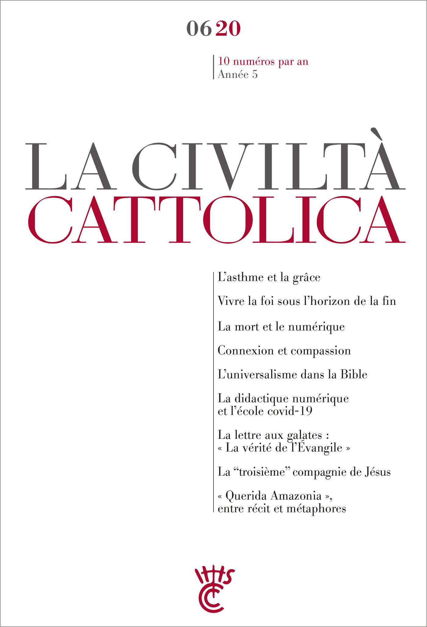 LA CIVILTA CATTOLICA 0620