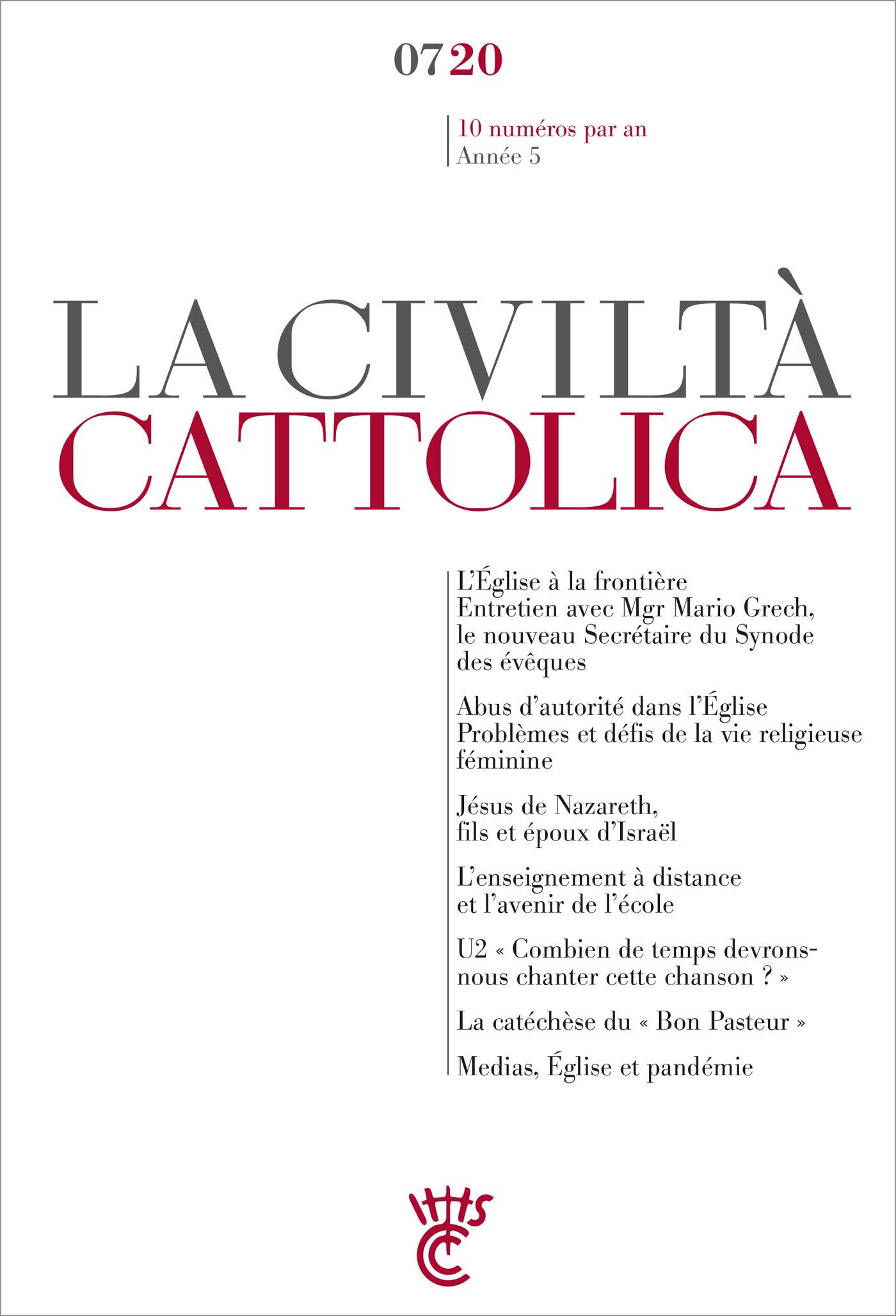 LA CIVILTA CATTLICA 0720