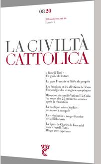 LA CIVILTA CATTOLICA 0820