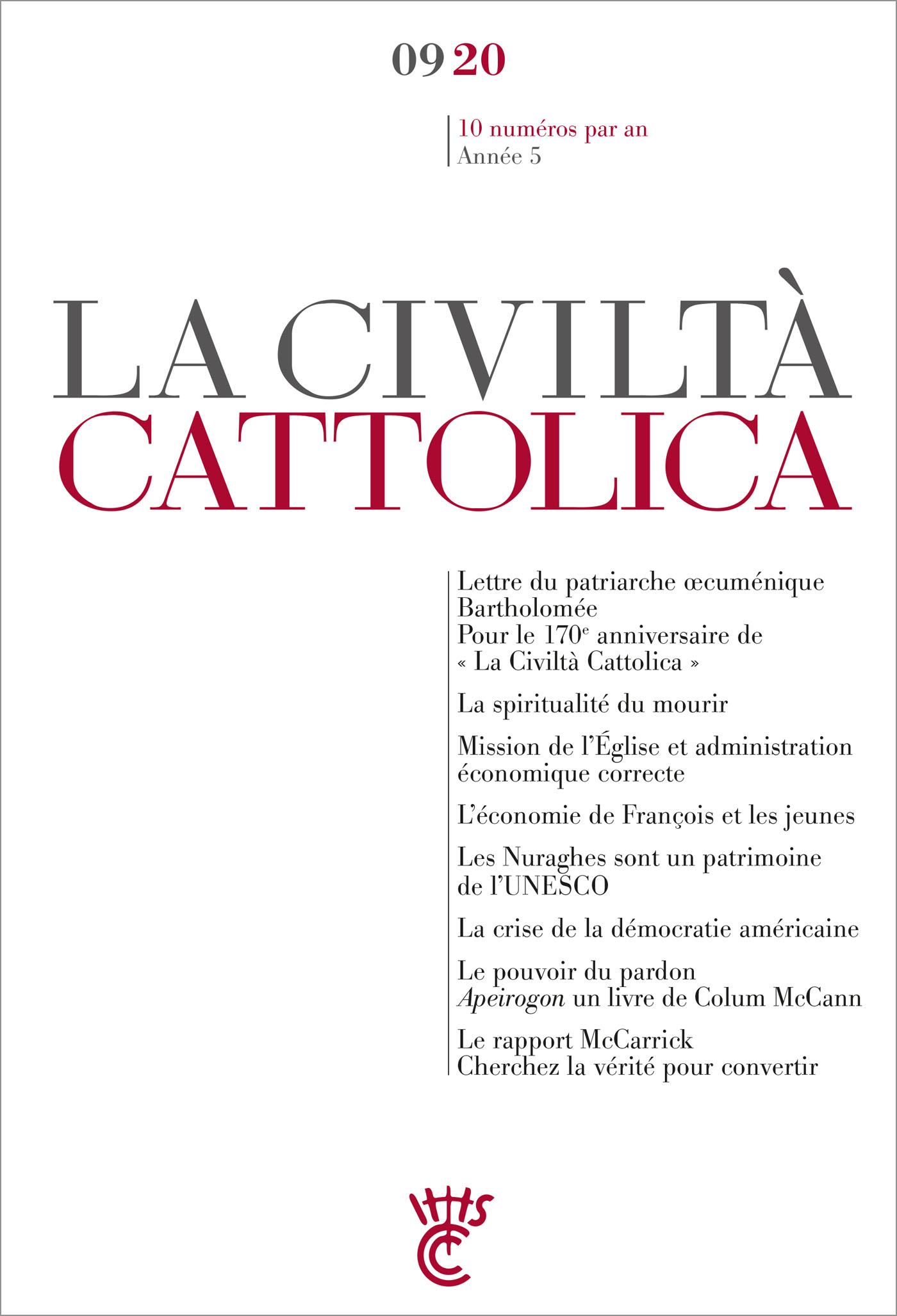 LA CIVILTA CATTOLICA 0920