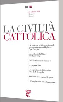 Civiltà Cattolica OCTOBRE  2018