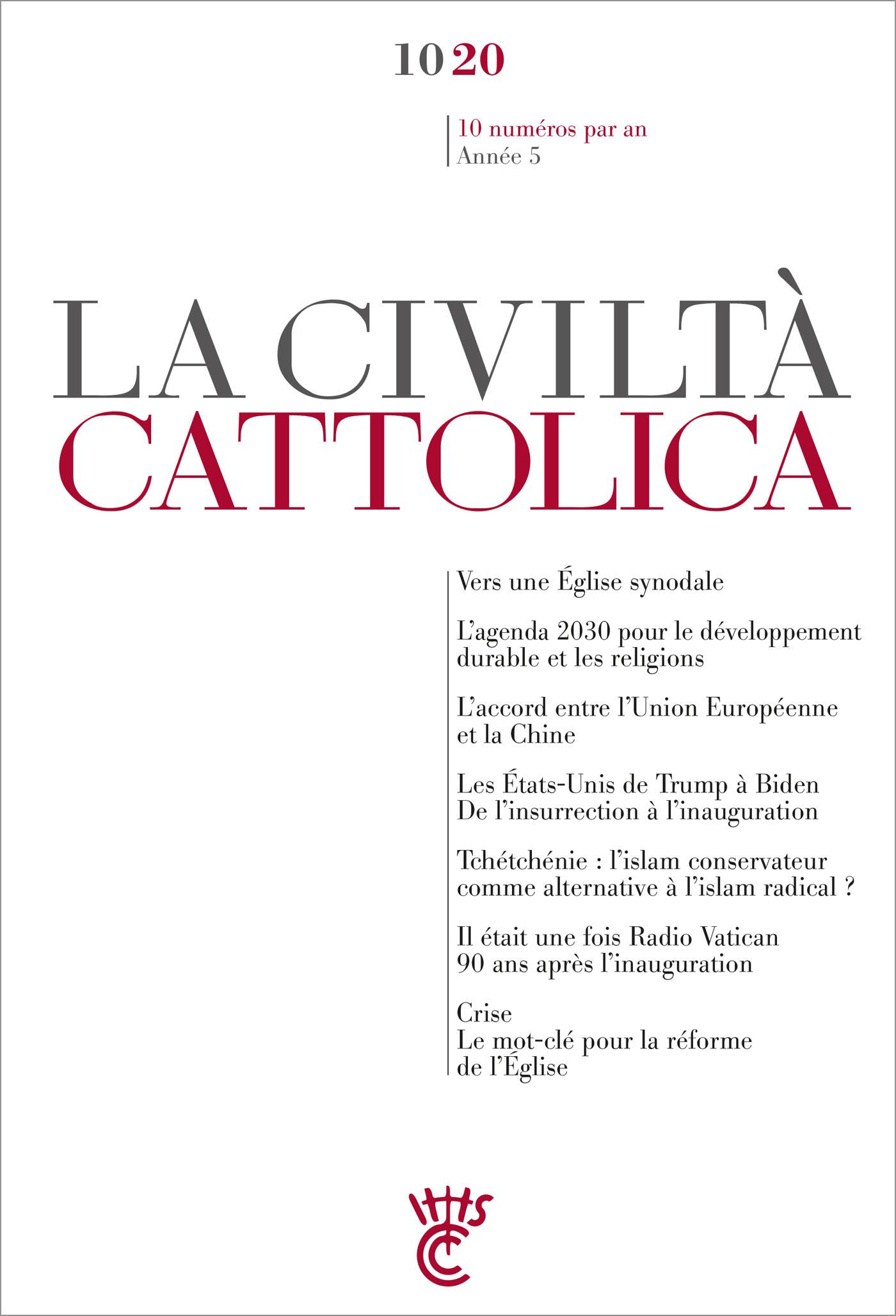 LA CIVILTA CATTOLICA 1020