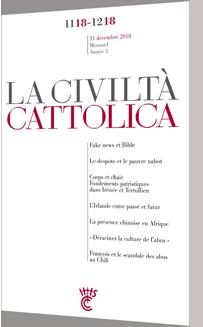 LA CIVILTA CATTOLICA - NOV.-DEC. 2018