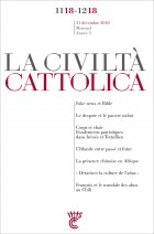 LA CIVILTA CATTOLICA - NOV.-DEC. 2018