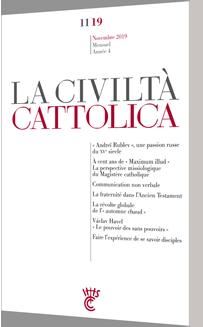 La Civilta Cattolica - Novembre 2019