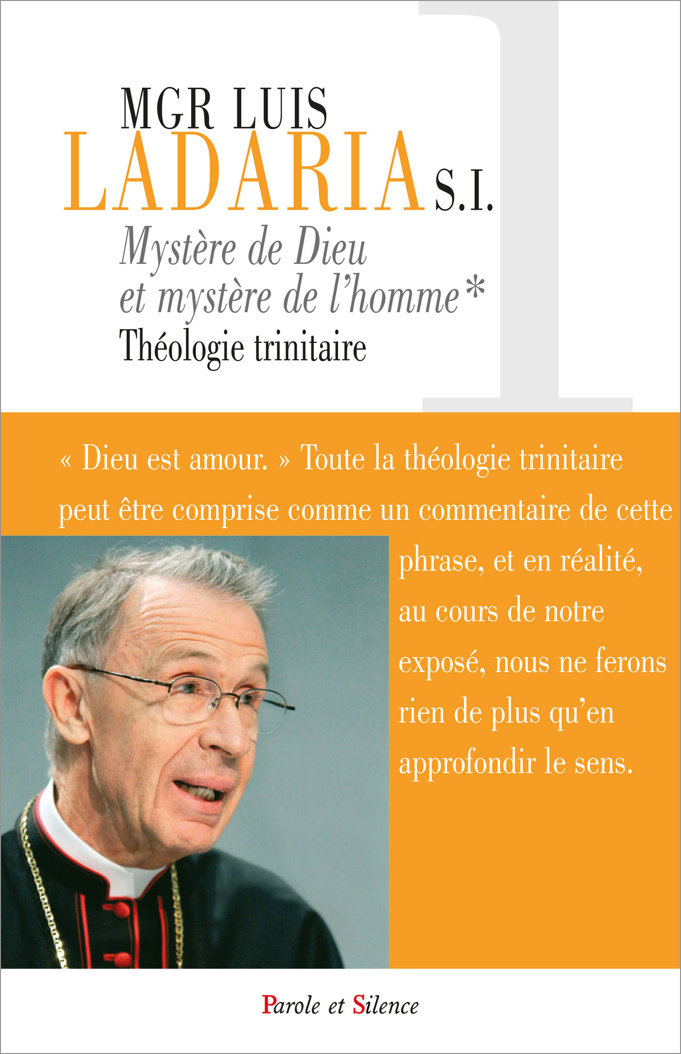 Mystère de Dieu, mystère de l'homme - Théologie trinitaire