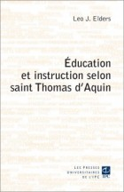 �ducation et instruction selon saint Thomas d'Aquin