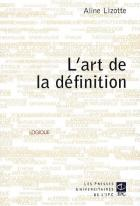 L'art de la d�finition