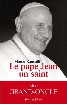 Le pape Jean, un saint