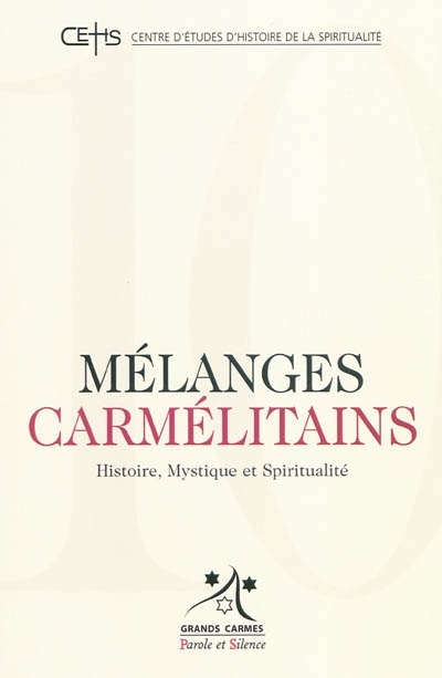 Mélanges carmélitains 10