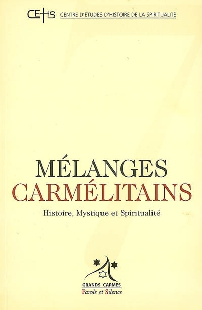 Mélanges carmélitains, n° 7.