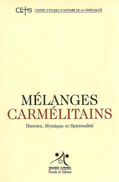 Mélanges carmélitains, n° 8.