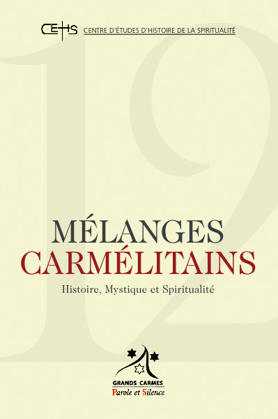 Mélanges carmélitains 12
