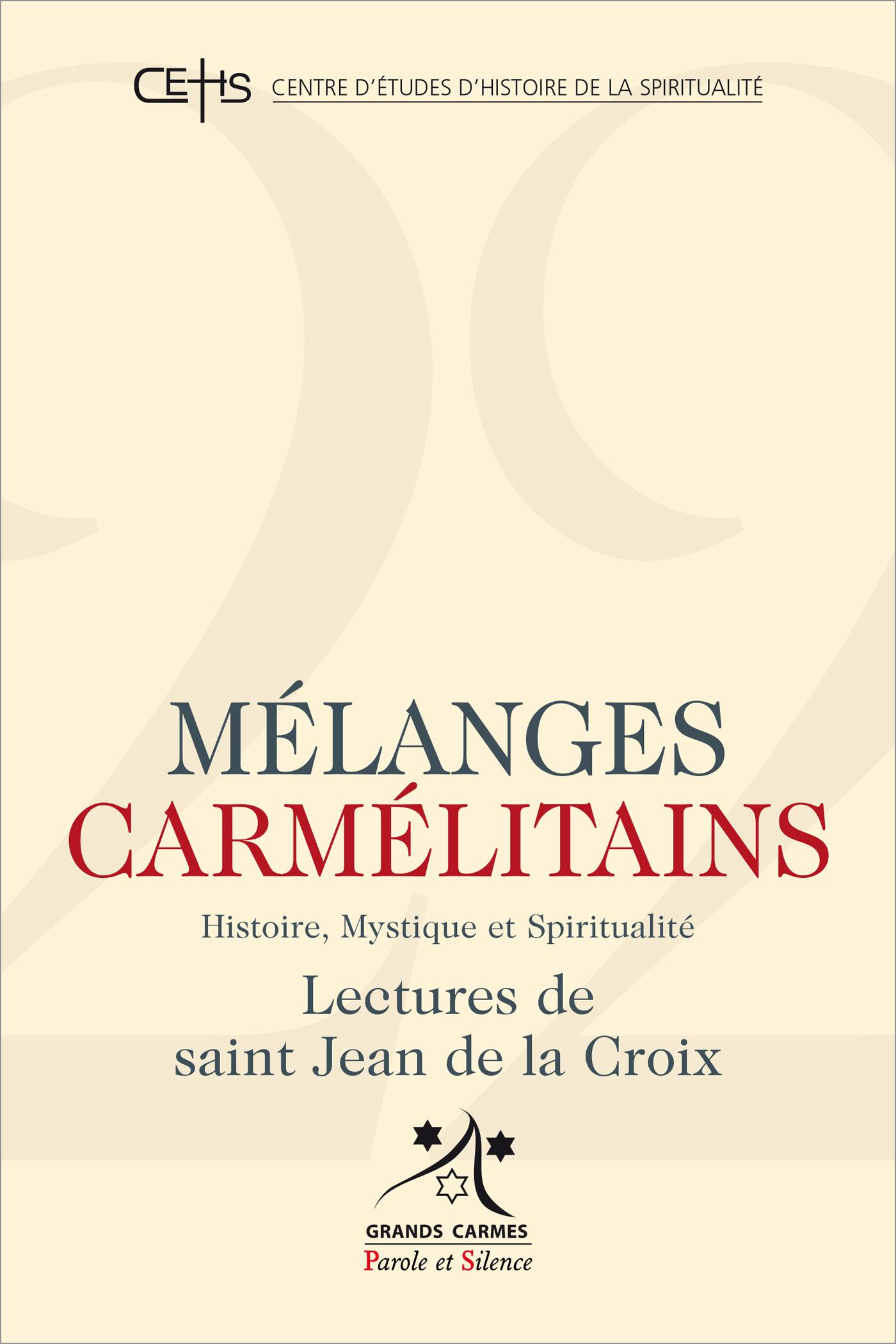 Mélanges carmélitains 22