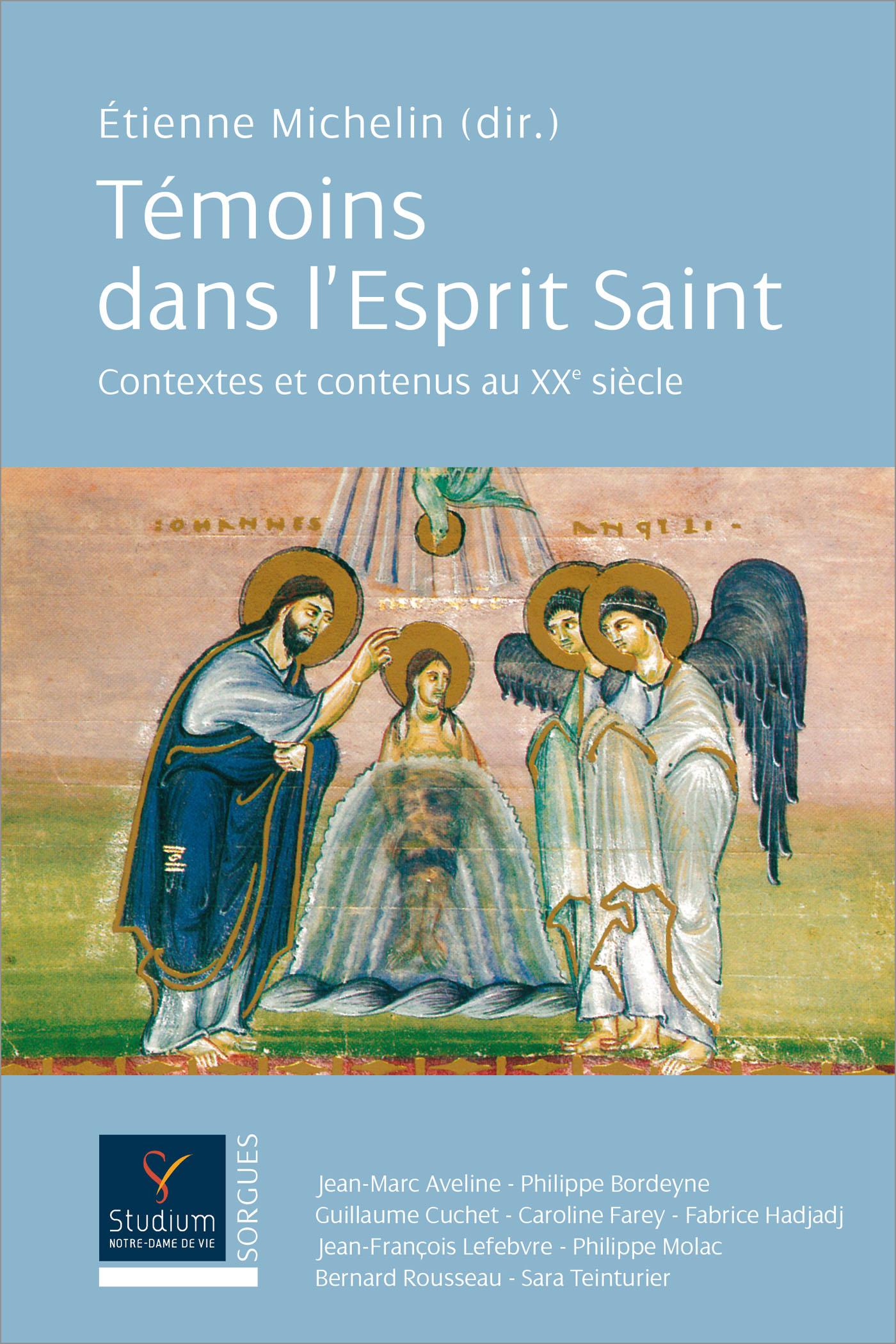 Témoins dans l'Esprit Saint I